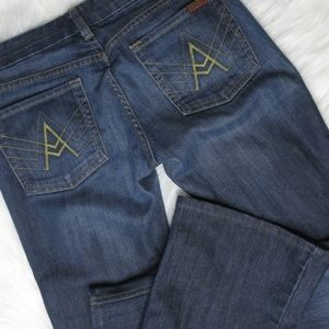 7 for All Mankind A pocket bootcut  jeans sz 28